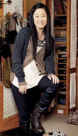 Vera Wang: Diseñadora de modas norteamericana