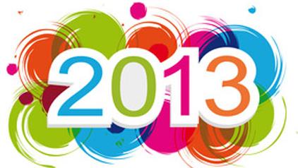 ¡Bienvenido 2013!